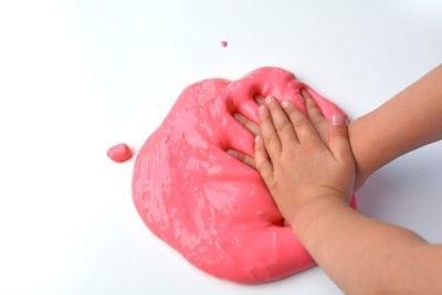 розовый слайм