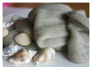 слайм песок