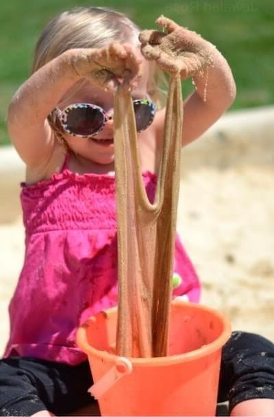 лизун песочный